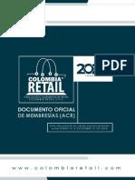 MEMBRESIAS 2020 - ASOCIACION COLOMBIANA DE RETAIL