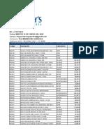 lista de precios 14.01.20