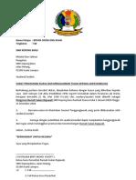surat pelantikan ajk pelajar