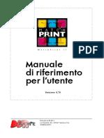 MatchPrint-Manuale Utente