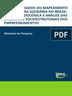 RP_Os Novos dados do mapeamento de economia solidária no Brasil_2016