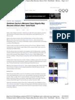 Goldman Sach s Nigeria