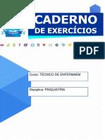 02 -  Caderno de Atividades  psquiatria  Técnico de Enfermagem-18.1