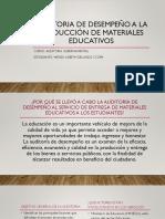 Auditoria de desempeño a la producción de materiales.pptx