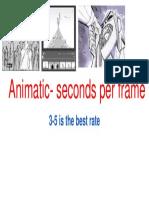 Animatic- Seconds Per Frame