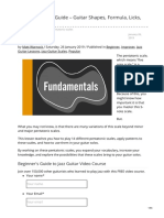 mattwarnockguitar.com-Pentatonic Scale Guide  Guitar Shapes Formula Licks and Patterns