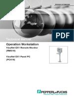 Technical Manual_VisuNet EX1 Remote Monitor_RM519