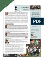 Newsletter 2008 08August
