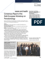 Periodontal Diseases and Health Consensus of the Sixth European Workshop on Period Ontology