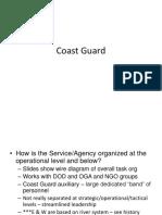 Coast Guard - Class Notes
