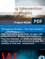 Reading Intervention Strategies