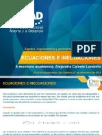 UNAD_Ecuaciones e inecuaciones
