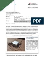 Carta Nº0XX-2020-TSK-Sol Reparacion de Sist Drenaje y Hundimiento de Terreno en PSFO