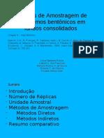 Métodos de coletas para fundos duros - Bentologia