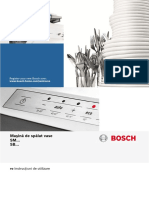 Masina spalat vase incorporabila Bosch SM