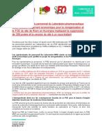 Avant la visite de Laurent Wauquiez, les syndicats dénoncent l'attitude du groupe Merck sur MSD-Chibret