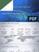 Informe de ciberseguridad en empresas argentinas 2020