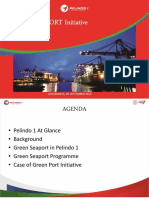 ANNEX G 7.4 Green Port Initiatives (by Indonesian Port Corporation I)