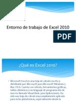 Entorno de Trabajo de Excel
