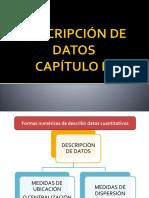 CLASE  III MEDIDAS DE TENDENCIA CENTRAL Y DISPERSIÓN