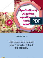 Application of Algebraic equation and Rational equation.pptx