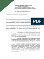 NOTA TÉCNICA 304 - 2012 - prescrição das parcelas vencidas