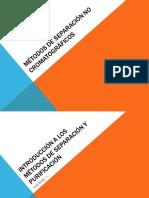Métodos de separación no cromatográficos [Autoguardado]