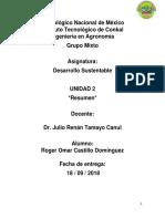 DesarrolloSustentable_Resumen_Unidad2