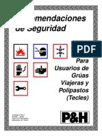 011 Manual Del Operador P&H