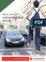 Informe anual 2008-2009 sobre la vulnerabilidad social de Cruz Roja