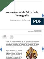 historia de la termografia
