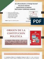 historia de la costitucion politica del peru