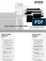 Manual Impressora Epson Pro 7880