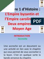 L'Empire byzantin et l'Empire carolingien deux empires du moyen age powerpoint