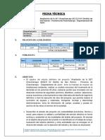 Ficha Tecnica Ampliación SET Chanchamayo