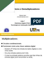 Aula 07 - Multiplexadores e Demultiplexadores
