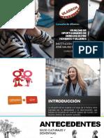 IGUALDAD DE OPORTUNIDADES DE DERECHO