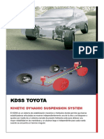 KDSS (Kinetic Dynamic Suspension System) TOYOTA
