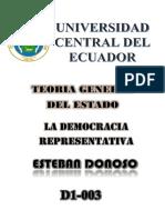 Ensayo Historico Democracia Representativa