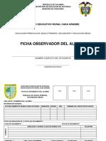 FICHA OBSERVADOR DEL ALUMNO BÁSICA Y MEDIA formato
