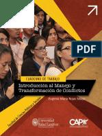 Cuaderno Introducción al Manejo y Transformación de Conflictos