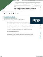 Cómo crear una disquetera virtual (virtual floppy drive)