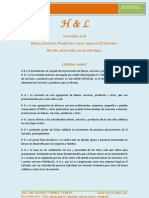 PROGRAMA DE PROMICION H & L