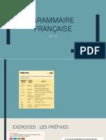 GRAMMAIRE DELF B2.
