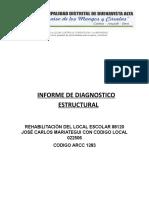 Informe de diagnóstico estructural