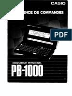 casio pb1000fr