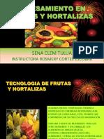 FRUTAS Y HORTALIZAS COMFANDI CALI