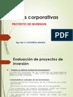 Sesión 9 -Finanzas Corporativas I