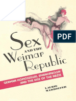 Marhoefer - Sex and the Weimar Republic; German Homosexual Emancipation and the Rise of the Nazis (2015).pdf