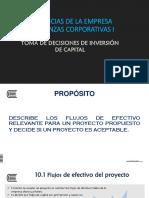 Sesión 10 - Finanzas Corporativas I